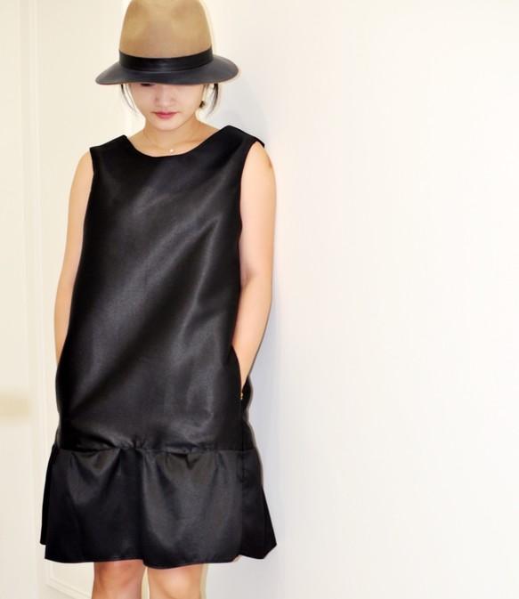 d8ce6b1d267a4 3次元カットドレスシンプルな結婚式のパーティーの衣装の衣装のフラット135 X台湾のデザイナー黒のノースリーブのドレスの気質の感