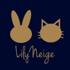 うさぎと猫のスマホケース リリーネージュ