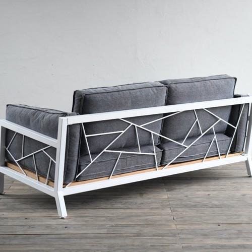 ◆特別価格◆SULKSOFA - spider web #1(fabric seat / 2seater)※組立費用込み