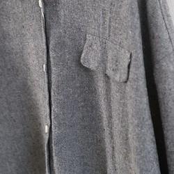 09d851e56e2bf9 秋 大きいサイズ グレー ブラウス 長袖 シャツ レディース シャツ・ブラウス Annie洋服工房 通販|Creema(クリーマ)  ハンドメイド・手作り・クラフト作品の販売サイト