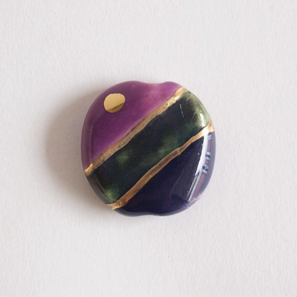 serengeti purple purple dark green navy blue gold ビーズ boconon