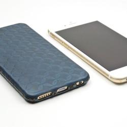 a20919d15f iPhone6用 革ケース(七宝柄、ダークブルー) iPhoneケース・カバー ...