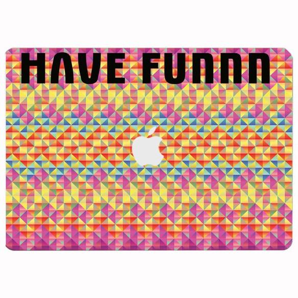 have funnn pcステッカー ipad タブレットケース pacumo