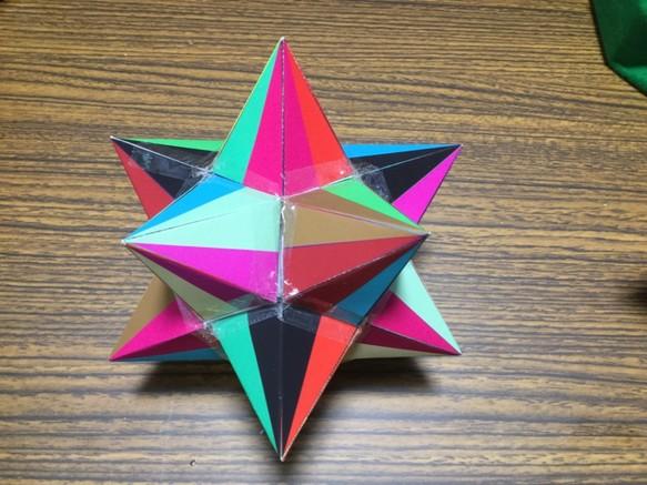 大二十面体 可視化型 星型正多面...