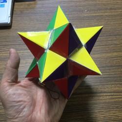 数学不思議立体 星型正多面体可...