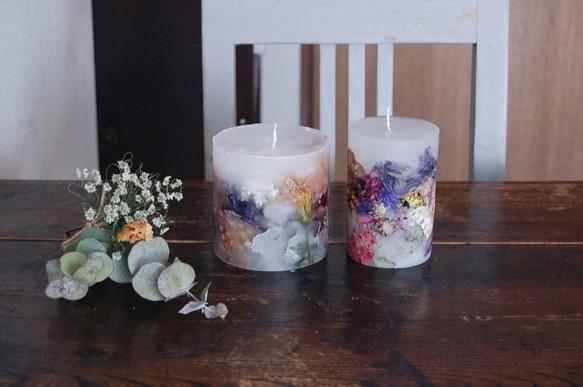 after bouquet candle size l キャンドル キャンドルホルダー tuci