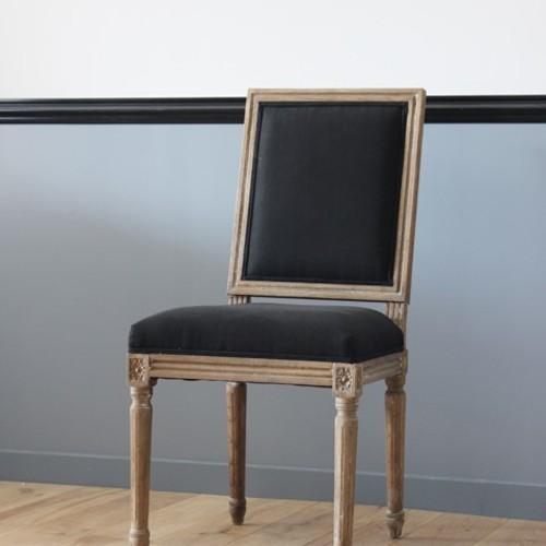 RoomClip商品情報 - CH-857-5 アンティーク フレンチ フランス チェア 椅子 ダイニングチェア リネン 麻 シャビー モダン