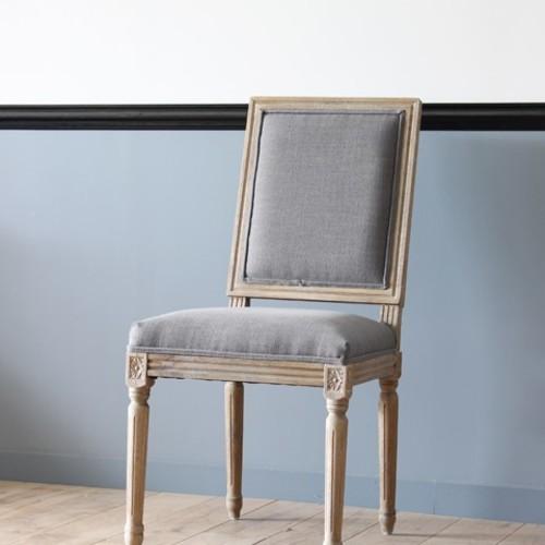RoomClip商品情報 - CH-857-SKY2426 アンティーク フレンチ フランス チェア 椅子 ダイニングチェア ナチュラル シャビー
