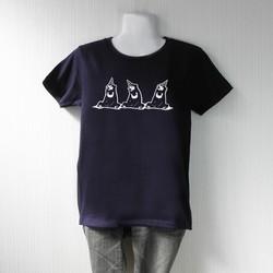 83754d3dac5634 出待ちマレー熊Tシャツ ネイビー Tシャツ・カットソー choco-rail 通販|Creema(クリーマ) ハンドメイド・手作り・クラフト作品の 販売サイト