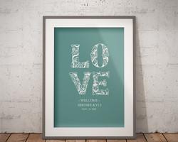 2e11e38b5b88d ウェルカムボード 結婚式 名入れ 二次会 ポスター印刷 パネル加工OK bord0092