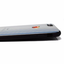 3ade6868c1 iphone7plus/iphone8plusケース レザーケースカバー(オフホワイト)ロンドンストライプ 赤リンゴ iPhoneケース・カバー A  good all 通販|Creema(クリーマ) ...