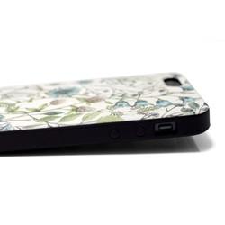 2c029997b6 iphone5/iphone5s/iphoneSEケース☆軽量レザーケースカバー(花柄)ワイルドフラワー ボタニカル