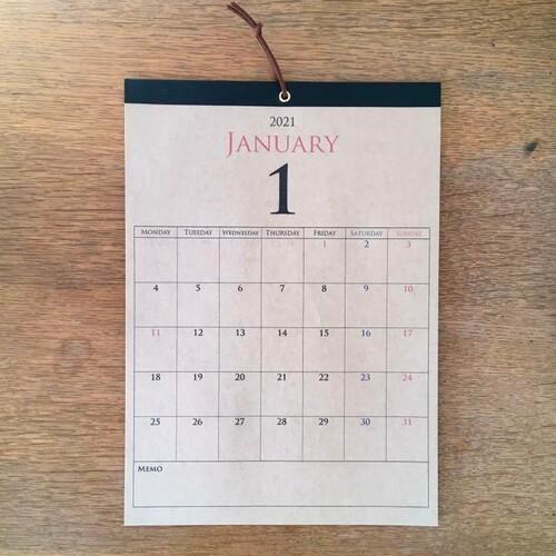 こよみ カレンダー 月 2