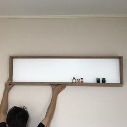 壁付け棚(box)|壁掛けラック・ウォールシェルフ|ふらっしゆ|ハンドメイド通販・販売のCreema