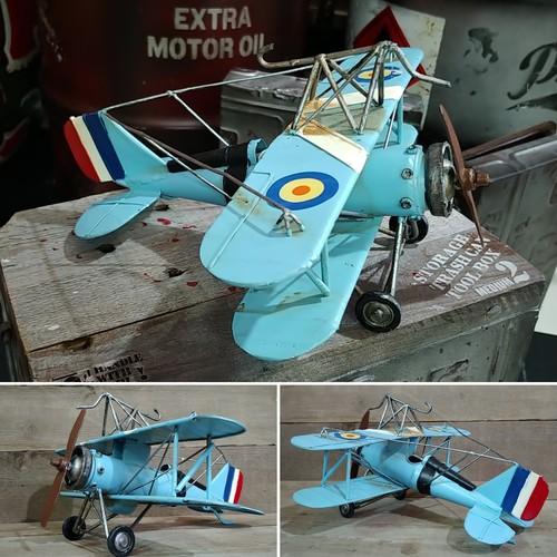 クラッシック 飛行機模型③ プロペラ機 タンデム翼/ フランス(複葉機 ...