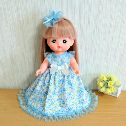 お花柄ドレス♥メルちゃん服♥ソランちゃん服♥2点セット
