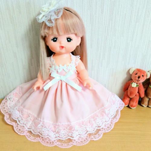 ピンクドレス♥メルちゃん服♥ソランちゃん服♥2点セット