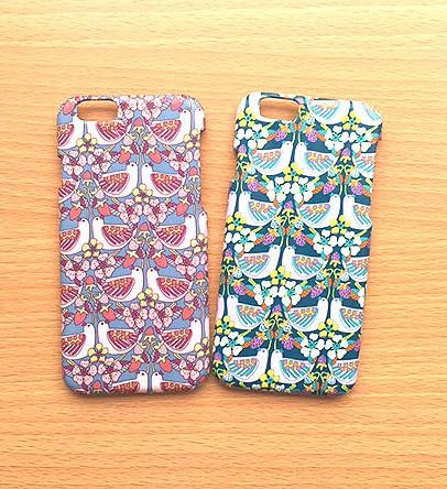 4569910a77 iphone8 iPhonex対応☆リバティ ハト2色 iPhoneケース・カバー POKO-SUN ...