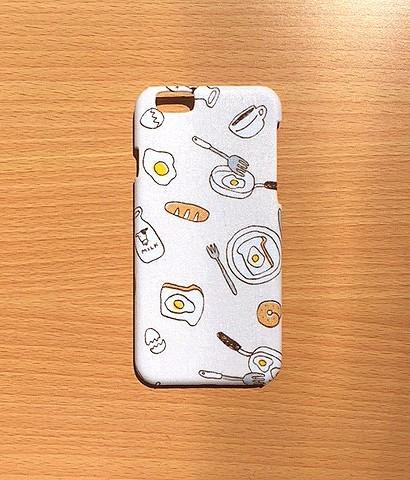 58ff6a43a1 iPhoneケース☆朝食柄 iPhoneケース・カバー POKO-SUN 通販|Creema ...
