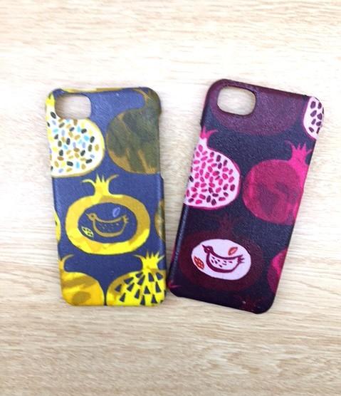 5ed10f1efd iPhoneケース☆ザクロ柄 iPhoneケース・カバー POKO-SUN 通販|Creema ...