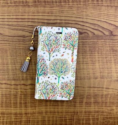 d725c0e622 手帳型iPhoneケース リバティ森 iPhoneケース・カバー POKO-SUN 通販 ...