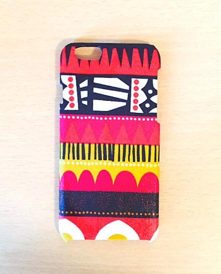 42119e150e iphone6ケース☆赤柄2 iPhoneケース・カバー POKO-SUN 通販|Creema ...
