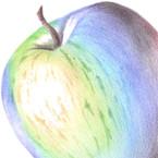 にじ色の林檎