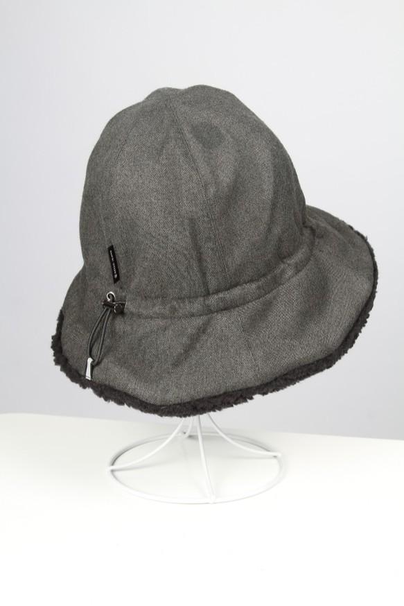 1cc62f8168674 防水フロック漁師帽子 - グレー 帽子 BREEZI ISLAND 通販 Creema ...