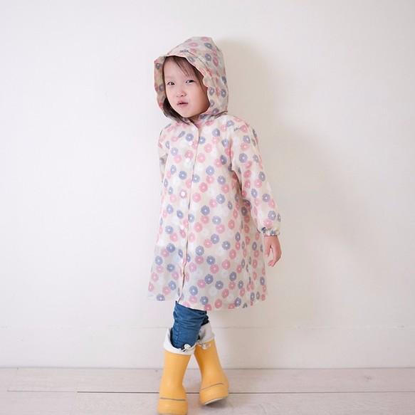 b53b23bdfe9eb 子供の華麗な花火のカーキ色のレインコート・KIDSレインコート 子供服 ...