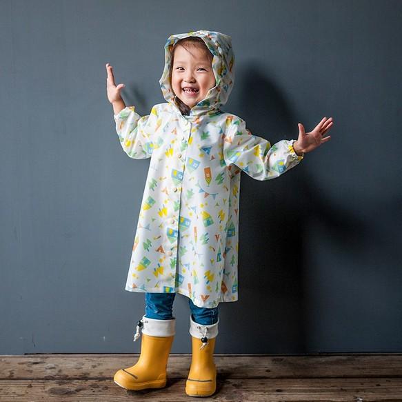 a6559c2098b9c 森の小屋パーティ白人の子供レインコート・KIDSレインコート 子供服 ...