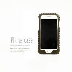 iphone8対応 iphone8plus 7 7plus 6 6s 6plusケース よもぎ色 カーキ
