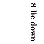 8 lie down
