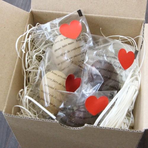 箱 バレンタイン ラッピング