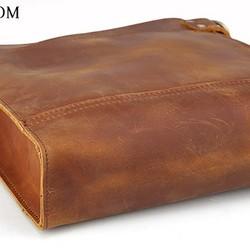 3dc760985882 ナチュラル風 メンズ 本革 レザー ショルダーバッグ iPad対応 キャメル 厚手牛革 レザー メッセンジャーバッグ