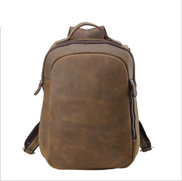 d20d8523e197 ラウンドzip 2WAY メンズ 本革 リュックサック ディパック バッグパック アウトドア 旅行トラベル鞄