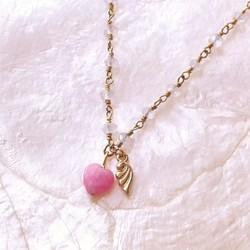 love angel heart necklace love angel heart necklace mozeypictures Choice Image