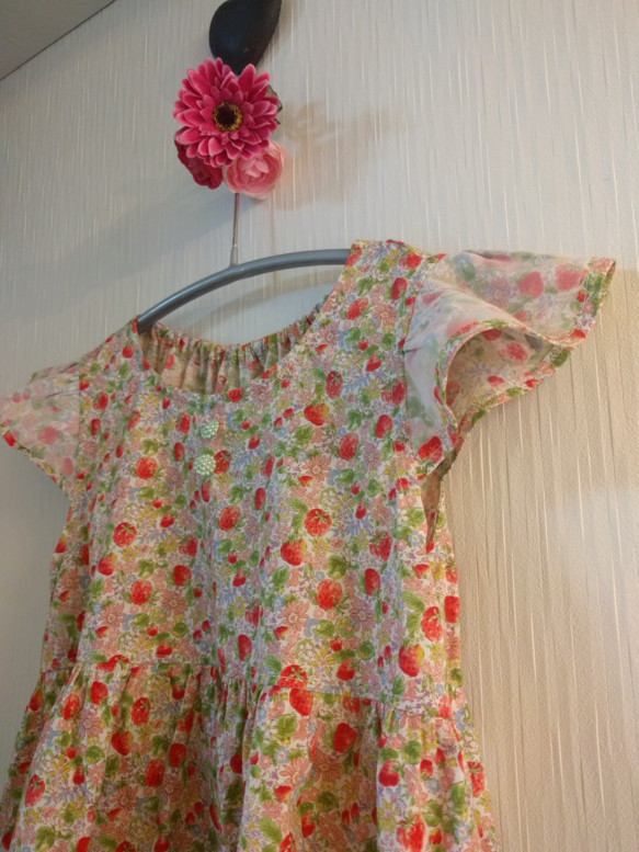 179cf983719ed 150サイズ 女の子ワンピース ストロベリー 子供服 結布-yufu- 通販 ...