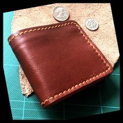 e5fb3b3cae55 送料無料 ハッピーピンク レザーウォレット バッグ 革職人の手作り財布屋 ...