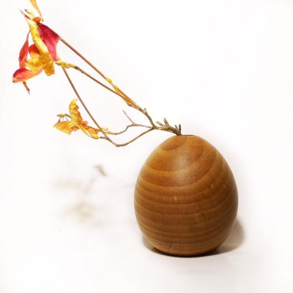 一輪挿し 木製 Sakura サクラ (ドライフラワー用) 一輪挿し・花瓶・花器 木の雑貨 Kui