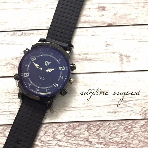d2addd1a39 夏のラバーベルトウォッチ ブラック 腕時計 メンズ レディース シンプル ギフト 人気 プレゼント 時計