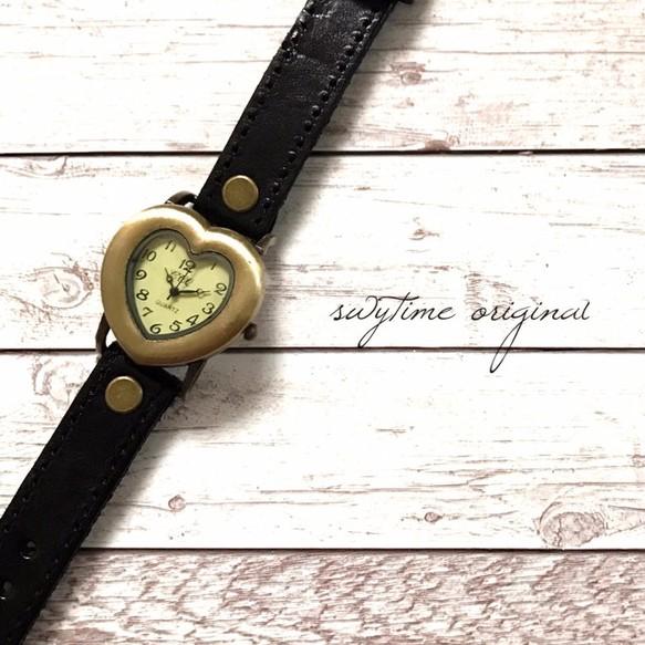 955f66e22b 夏のレザーウォッチ 黒 ブラック 腕時計 メンズ レディース シンプル ギフト 人気 プレゼント 時計