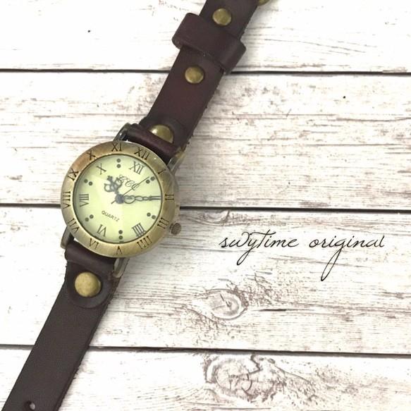 3897413327 刻印可能】夏のレザーウォッチ 腕時計 メンズ レディース シンプル ギフト 人気 プレゼント 時計 おしゃれ