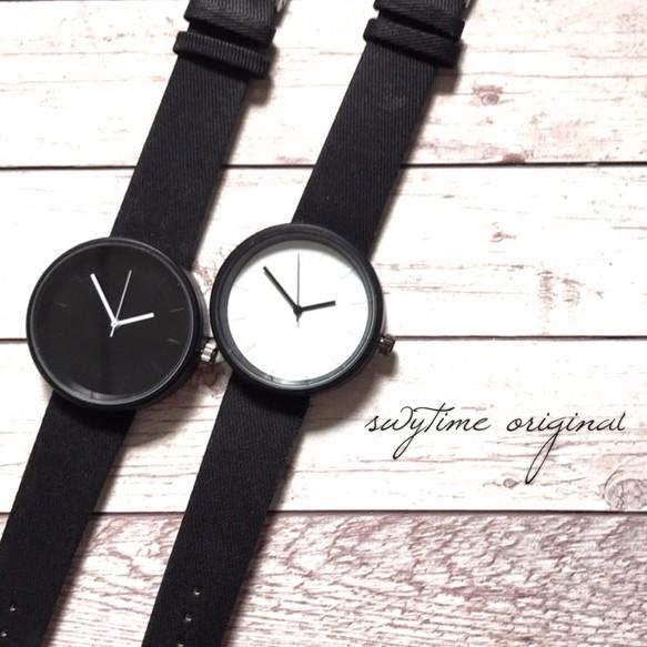 huge selection of 7b918 264ce 【ペア価格】夏のシンプルペアウォッチ ブラック×ホワイト  腕時計 メンズ レディース シンプル ギフト 人気