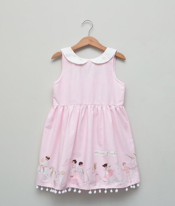 c6d8d8c786fbb ピンクの騎士姫ドレス(2歳〜5歳) 子供服 Shining.Gifts 通販|Creema ...