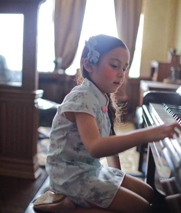 b737e11a98659 小さな紫色のドレス(2歳〜5歳) 子供服 Shining.Gifts 通販|Creema ...