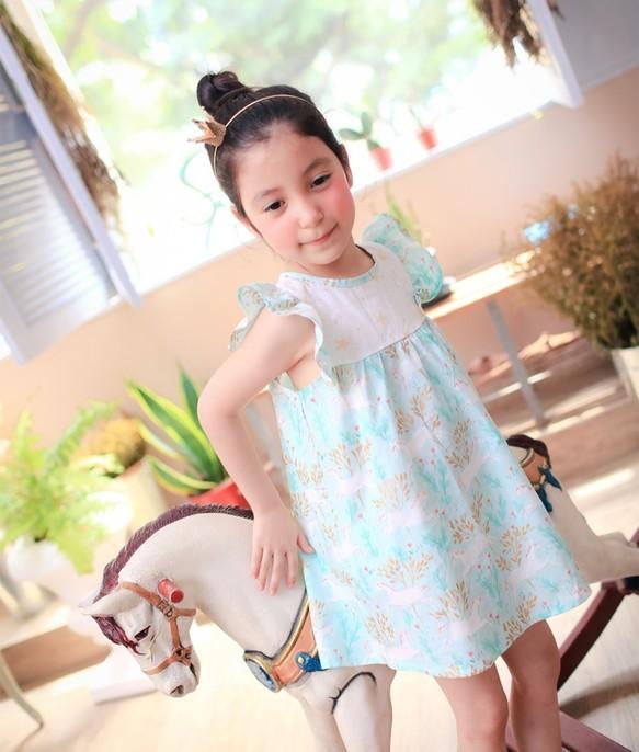 29573beb31ed1 5才まで2歳)マジックユニコーンドレス 子供服 Shining.Gifts 通販 ...