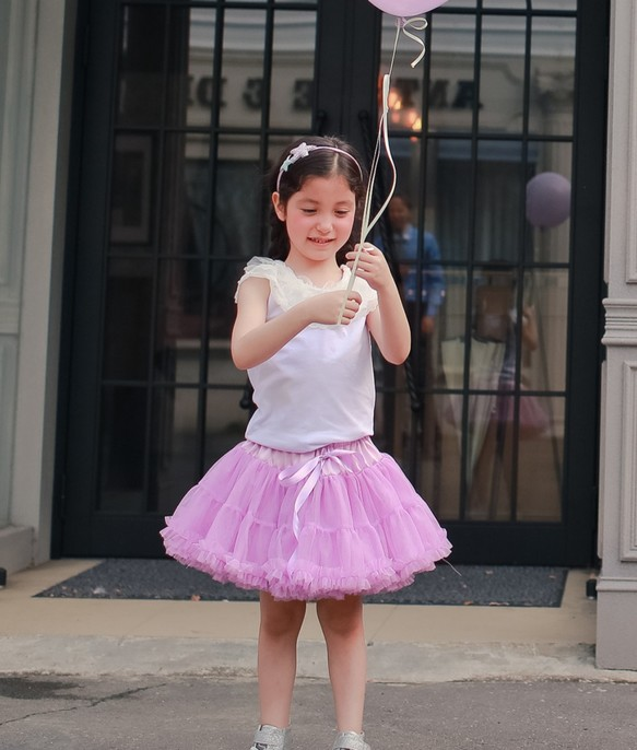 ce20c57638062 シリーズ綿菓子 - 甘い紫色のスカートパン・パン 2歳(90センチメートル)〜5歳(120センチメートル)