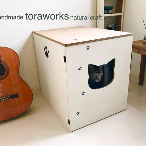 猫トイレ用 カバー♪ レトロ&アンティーク風 家具