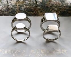 47c7349069f82  Creema限定 K18 シグネット 結婚指輪 イニシャル マリッジ 婚約 ペアリング ベビーリング 出産