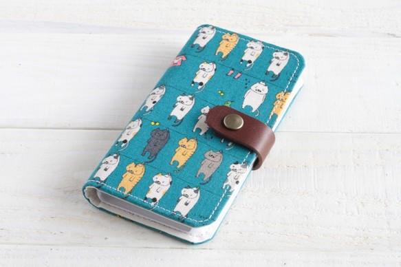 fccca9d34c iPhoneXS/XR/XSMax対応 再販3♪洗たくニャンニャン 手帳型スマホカバーネコ猫8PlusAndroid
